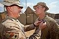 3rd LAR Marine receives Purple Heart in Afghanistan DVIDS373876.jpg