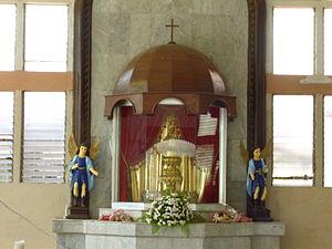 Arevalo, Iloilo City - The 3rd Oldest Santo Niño in the Philippines in the parish church of Villa de Arevalo, Iloilo City