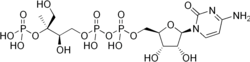 4-diphosphocytidyl-2-C-methyl-D-erythritol 2-phosphate.png