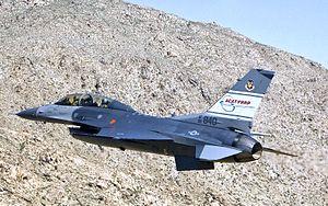 416th Flight Test Squadron - Image: 416th Flight Test Squadron General Dynamics F 16D Block 50A Fighting Falcon 90 0840