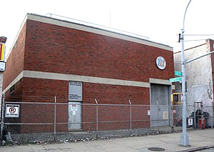 BMT Fourth Avenue Line - A view of the Garfield Place substation, which is used to power the Fourth Avenue Line