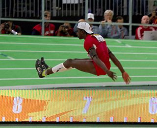 Marquis Dendy American track and field athlete