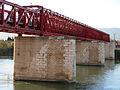 691 Antic pont del Ferrocarril sobre l'Ebre (Tortosa), cara sud.JPG