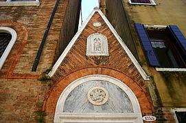 7391 - Venezia - Fondaco dei Turchi (sec. XII) - Dettaglio fiancata (Federico Berchet, 1869) Foto Giovanni Dall'Orto - 16-Aug-2008.jpg