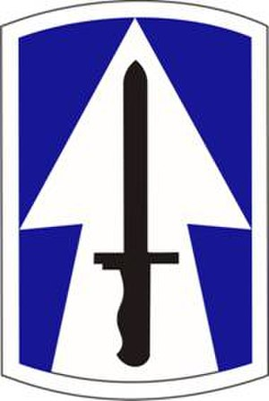 38th Infantry Division (United States) - Image: 76th IBCT shoulder sleeve insignia