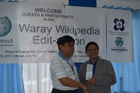 7th Waray Wikipedia Edit-a-thon 35.JPG