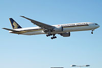 9V-SWD - B77W - Singapore Airlines