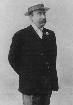 Isaac de Camondo - Photograph of Comte Isaac de Camondo circa 1890