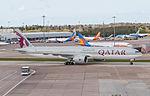 A7-BAV Qatar Airways B777 (26572858826).jpg