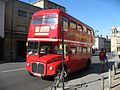 AEC Routemaster bus RM1568 in Broad Street, Oxford, England.jpg