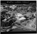 AERIAL VIEW OF GYM, LOOKING SOUTH - U. S. Military Academy, West Point, Orange County, NY HABS NY,36-WEPO,1-4.tif