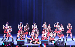 AKB48 members at the J!-ENT LIVE(cropped).jpg
