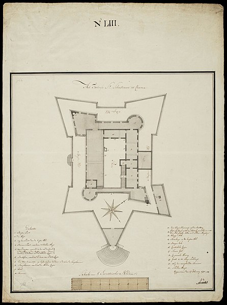 File:AMH-7699-NA Floor plan of the St. Sebastian fort at Chama.jpg