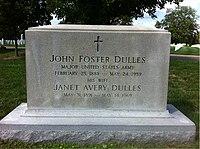 ANCExplorer John Foster Dulles grave.jpg