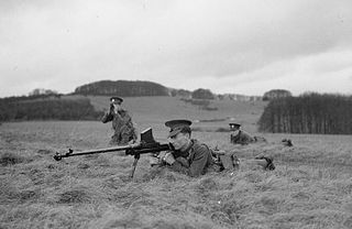 Boys anti-tank rifle A British anti-tank rifle in use during the Second World War.
