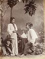 A Burmese girl and man in 1907.jpg