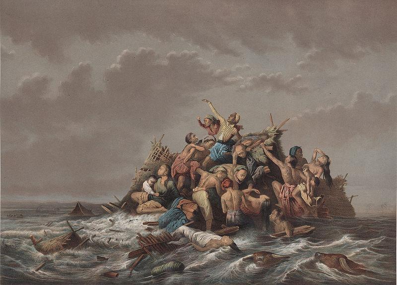 A Flood on Java 1865-1876 Raden Saleh.jpg