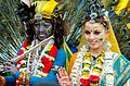 A Krishna Radha couple at the Ratha Yatra Festival Of Chariots.jpg