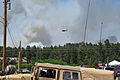 A U.S. Army UH-60 Black Hawk helicopter assigned to the Colorado Army National Guard provides firefighting assistance for the Black Forest Fire in El Paso County, Colo., June 12, 2013 130612-Z-WF656-015.jpg