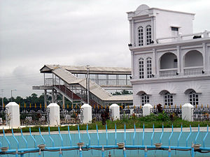Agartala railway station - A corner view of the station