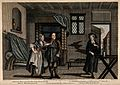 A disagreement between a woman, her husband a cobbler, and a Wellcome V0016140.jpg