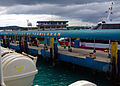 A ferry reaching at the Port of Tagbilaran, Philippines.JPG