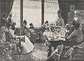 A five o'clock tea, gravure de Charles Baude d'après Julius LeBlanc Stewart, 1885.jpg