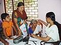A free medical camp organised at the Public Information Campaign on Bharat Nirman, organised by PIB, Thiruvananthapuram, in Pandalam Grama Panchayat, Kerala on October 11, 2012.jpg
