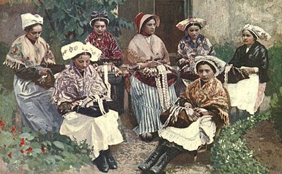 A group of lace makers - A book of the Cevennes.jpg