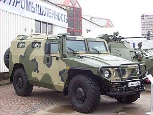 СПМ-2 «Тигр» ГАЗ-233036