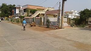 Ongole - A street view of Ongole