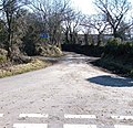 A timely warning - the road shown on the map does not exist - geograph.org.uk - 1765046.jpg