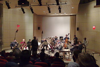 English: Aardvark Jazz Orchestra in concert in...