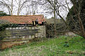 Abandoned mill at Tilty, Essex, England, 09 - abandoned sheds from West.jpg