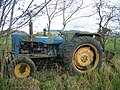 Abandoned tractor near Newbrough Lodge - geograph.org.uk - 1583707.jpg