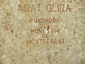 Abbot Oliba - Image: Abat Oliba (2)