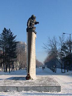 City in Qaraghandy Region, Kazakhstan