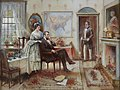 Abe and Mary Todd Lincoln (Mr. & Mrs. Lincoln) by Edward Percy Moran.jpg