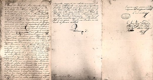 Decree of the opening of the ports, National Library of Brazil Abertura dos portos.jpg