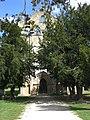 Abtei St Maurice de Blasimon Zugang.jpg