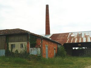 Abzac, Charente - Old Brick Factory at Chardat