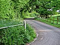 Access road to St Mary's Church, Matching, Essex England 01.jpg