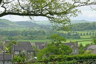 Acomb, Northumberland - Image: Acomb rooftops. geograph.org.uk 6250