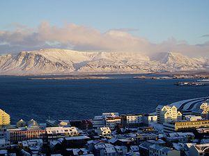 Faxa Bay - Reykjavík with Faxa Bay