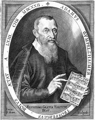 Adam Gumpelzhaimer - Adam Gumpelzhaimer, by Lucas Kilian (1622)