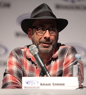 Adam Simon - Adam Simon at the 2015 WonderCon promoting Salem.