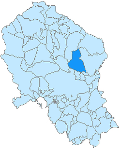 Location within Córdoba