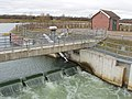 Adjustable weir at Marsh Lane, Jubilee River - geograph.org.uk - 720548.jpg