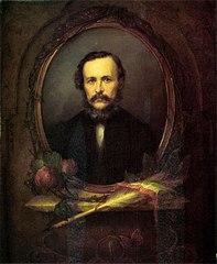 Portrait of József Eötvös