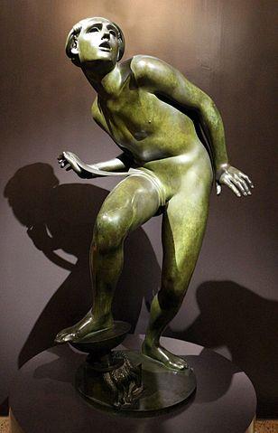 Вилла Некки Кампильо скульптура